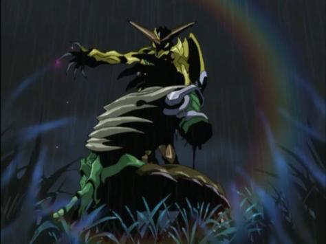 Sadamitsu The Destroyer Hakaima Sadamitsu Yayoi Vulture Claw Rainbow Ryūkei-dai