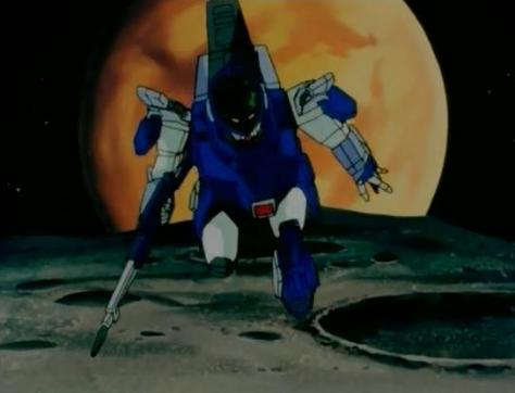 Blue Comet SPT Layzner Aoki Ryuusei SPT Layzner Mecha Mars Moon Outer Space Flying