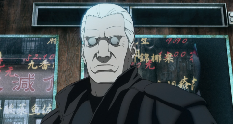 Ghost in the Shell 2 Innocence Batou Jacket Storefront Stare