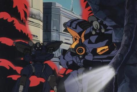 Megazone 23 Part III Mecha Military Combat Cover Smoke
