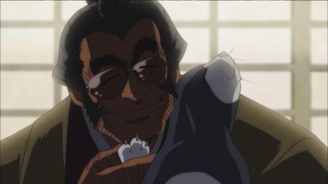 Rowdy Sumo Wrestler Matsutaro Abarenbou Rikishi!! Matsutarou Inokawa White Star Car Snuggle