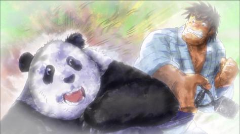 Rowdy Sumo Wrestler Matsutaro Abarenbou Rikishi!! Matsutarou Sakaguchi Matsutarou Shaving Panda