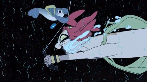 Space Dandy Season Two Meow Carpaccio Hungry Fishing Line Lure Jump Drool