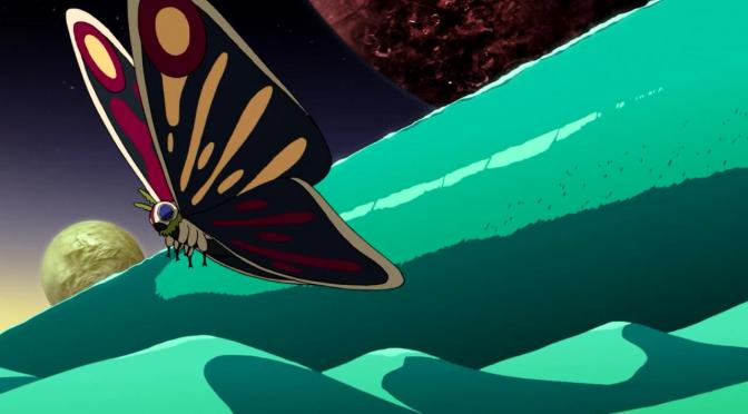 Space Dandy Season Two Pororoca River of Time Butterfly Wave