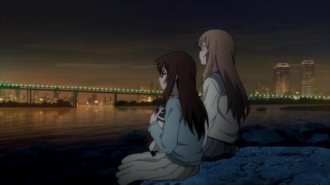 Tokyo ESP Rinka Urushiba Murasaki Edoyama Peggy The Peguin Hug Rainbow Bridge Sundown