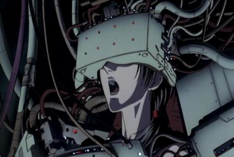 X The Movie X1999 Satsuki Yatoji Beast Monitor Visor Head Wires Yell Scream Shock