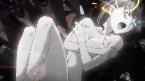M3 The Dark Metal M3 Sono Kuroki Hagane Sasame Izuriha Naked Nude Battle Damage Shot