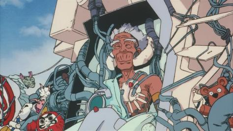 Roujin Z Kijuro Takazawa Smiling Z-001 Medical Computer Bed Robot Mecha Outside