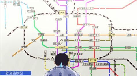 Rowdy Sumo Wrestler Matsutaro Abarenbou Rikishi!! Matsutarou Shin Tanaka Osaka Public Transit Map