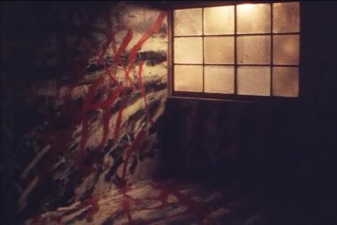 Thinking and Drawing Japanese Art Animation of the New Millennium Thinking and Drawing Nihon no Shinseki Art Animation Takashi Ishida Gestalt Heya Keitai Window Room Red Paint Slashes Blood Effect