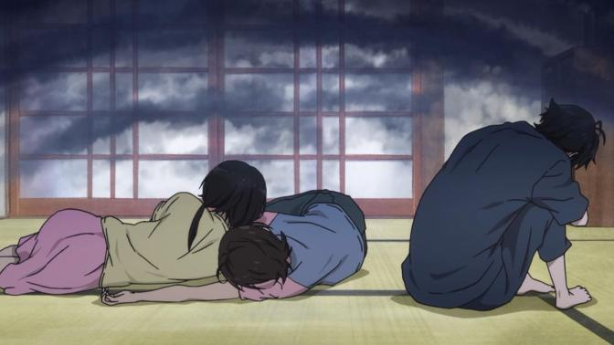 Barakamon Seishuu Handa Tamako Arai Miwa Yamamura Curled Up On The Floor Backsides