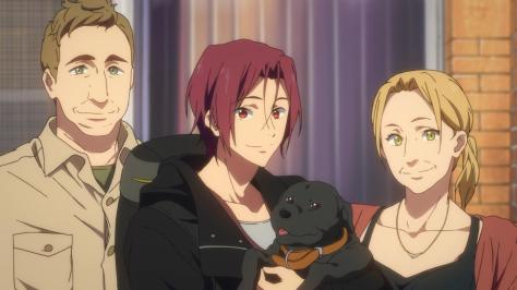 Free! Eternal Summer Russell Lori Rin Matsuoka Winnie Homestay Parents Australia Family Reunion Shot