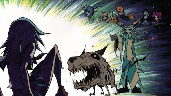 Hells Hells Angels Linne Amagane Steeler Steela Franken Threatening Pointing Kiki Wolfie Phantoma Mummyla Heads Watching