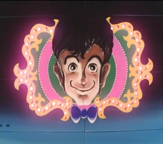 Lupin VIII Pilot Episode Arsene Face Neon Banner Lights