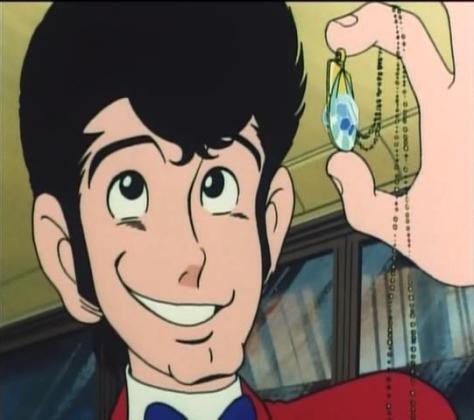 Lupin VIII Pilot Episode Arsene Necklace Jewelry Smile