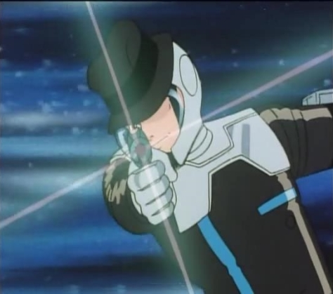 Lupin VIII  Pilot Episode Daisuke Jigen Space Suit Laser Gun Hat On Helmet