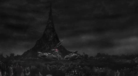 M3 The Dark Metal M3 Sono Kuroki Hagane MA-Vess Corpse Lightless Realm Corpse Mountain Landscape