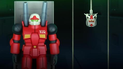 Mobile Suit Gundam-san  Kidou Senshi Gundam-san RX 77 2 Guncannon RX 78 2 Gundam 10Q Repair Bay Head