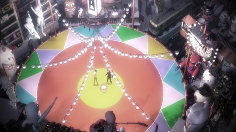 Mysterious Girlfriend X Nazo no Kanojo X Akira Tsubaki Mikoto Urabe Dream World Carnival City Circus
