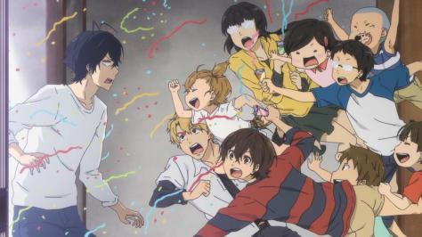 Barakamon Naru Kotoishi Tamako Arai Akihiko Arai Hina Kubota Kentarou Oohama Miwa Yamamura Hiroshi Kido Jumping To Seishuu Handa Return Confetti