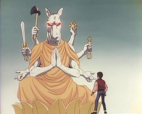 Dark Myth Ankoku Shinwa Takeshi Servant of Brahman and God of Darkness Susanoah-oh Eight Armed Horse Lotus