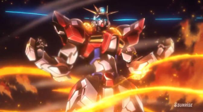 Gundam Build Fighters Try Build Burning Gundam Breaking Free Fire Inferno
