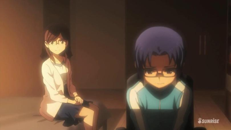 Gundam Build Fighters Try Fumina Hoshino Yuuma Kousaka China Kousaka Flashback Room Quitting Gunpla Battle