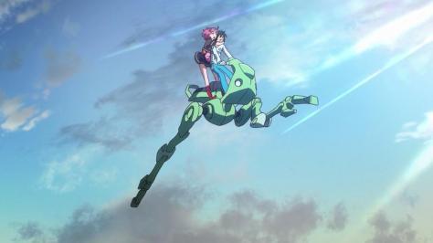 Gundam Reconguista in G Gundam G no Reconguista Shank Jumping Blue Sky Bellri Zenam Noredo Nug