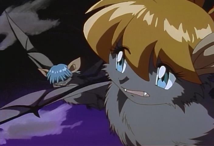 Inma Daitoshi Beast City Sex Demon Metropolis Aine Anne Tatsuo Draculon Vampire Bats Flying