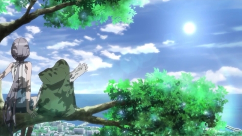 M3 The Dark Metal M3 Sono Kuroki Hagane Corpse Waving To Sun From Tree With Tsugumi Izuriha