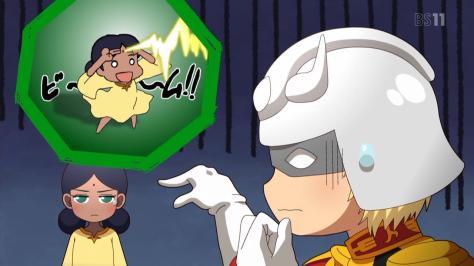 Mobile Suit Gundam-san  Kidou Senshi Gundam-san Lalah Sune Char Aznable Beam Bindi Laser Shoot