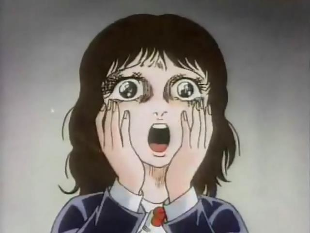 The Curse of Kazuo Umezu Umezu Kazuo no Noroi Minami Screaming Hands on Face Yell Fear