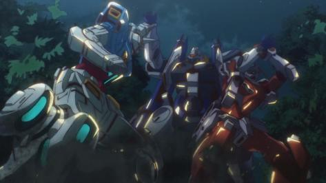 Gundam Reconguista in G Gundam G no Reconguista G-Self G-Arcane Wuxia Grappling Rainforrest