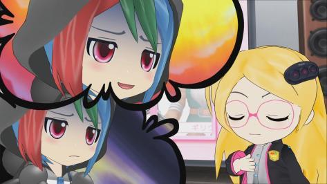 Sega Hard Girls Hi-sCoool! SeHa Girl Sega Mega Drive Game Gear Happy Face Sad Rainbow Hair