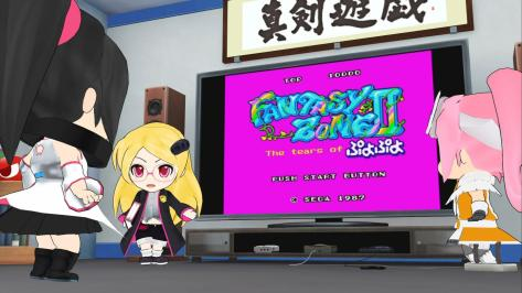 Sega Hard Girls Hi-sCoool! SeHa Girl Sega Saturn Mega Drive Dreamcast Fantasy Zone II The Tears of Puyo Puyo Presentation Game Idea
