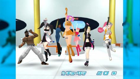Sega Hard Girls Hi-sCoool! SeHa Girl Space Channel 5 Ulala Sega Saturn Mega Drive Dreamcast Jeffry McWild  Dance Jump Pose