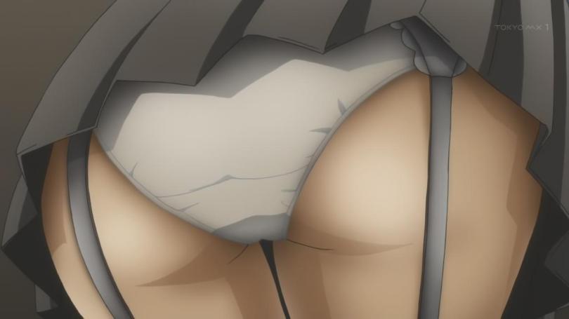 Tenchi Muyo Love Ai Tenchi Muyou! Rui Aoi Panty Shot Underwear Upskirt Garters Butt