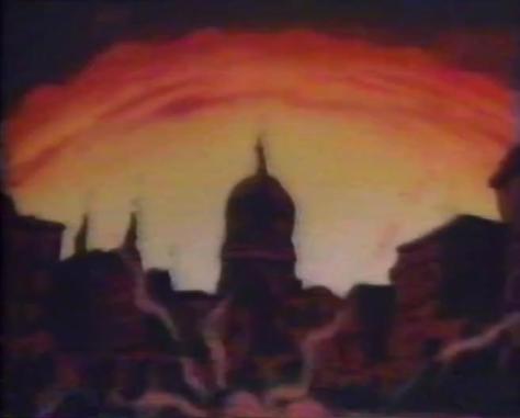 Future War 198X Future War 198X-nen Atomic Nuclear Bomb Blast Explosion Washington DC United State Capitol Building