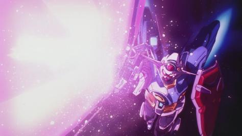 Gundam Reconguista in G Gundam G no Reconguista G-Self Beam Rifle Shot Fire Laser Blast Glow Speckles