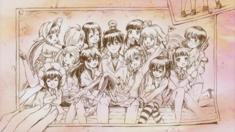 Kanojo ga Flag wo Oraretara If Her Flag Breaks Eyecatch Episode 14 Christmas OVA Group Shot
