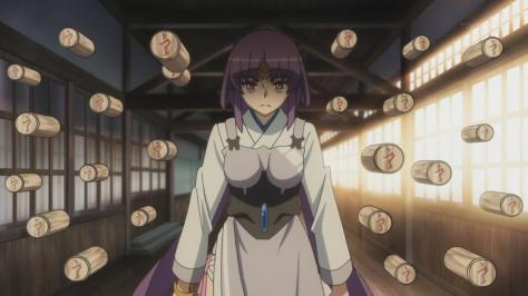 Tenchi Muyo Love Ai Tenchi Muyou! Aeka Jurai Masaki  Wood Guardian Summon Powers Angry