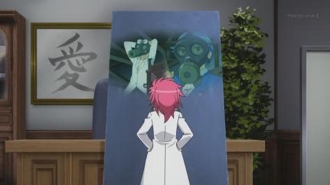 Tenchi Muyo Love Ai Tenchi Muyou! Washu Hakubi Monolith Monitor Rui Aoi Yuki Fuka Gas Masks