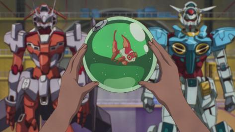 Gundam Reconguista in G Gundam G no Reconguista  G-Self G-Arcane Chuchumy Water Bowl