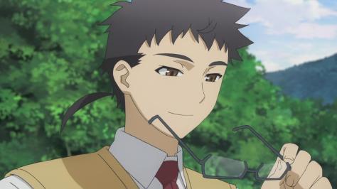 Tenchi Muyo Love Ai Tenchi Muyou! Tenchi Jurai Masaki Removing Glasses Rattail