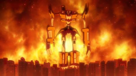 The Rolling Girls Always Comina Tokyo Robot Apocalypse Burning