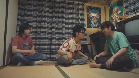 Blue Blazes Aoi Honō Aoi Honoo Ken Yasuda Hideaki Anno Tsuyoshi Muro Hiroyuki Yamaga Tomoya Nakamura Takami Akai Space Runaway Ideon Poster Dorm Room