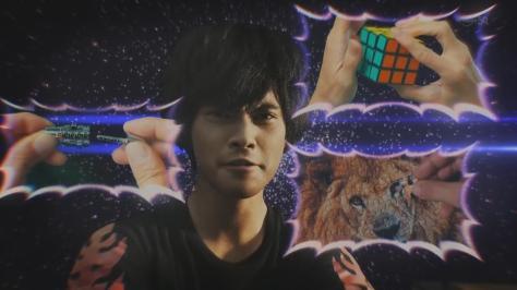 Blue Blazes Aoi Honō Aoi Honoo Yūya Yagira Moyuru Honō Puzzles Locks Rubix Cube