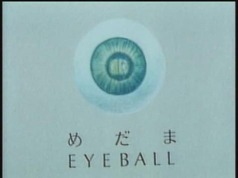 Koji Yamamura Japanese-English Pictionary Eyeball