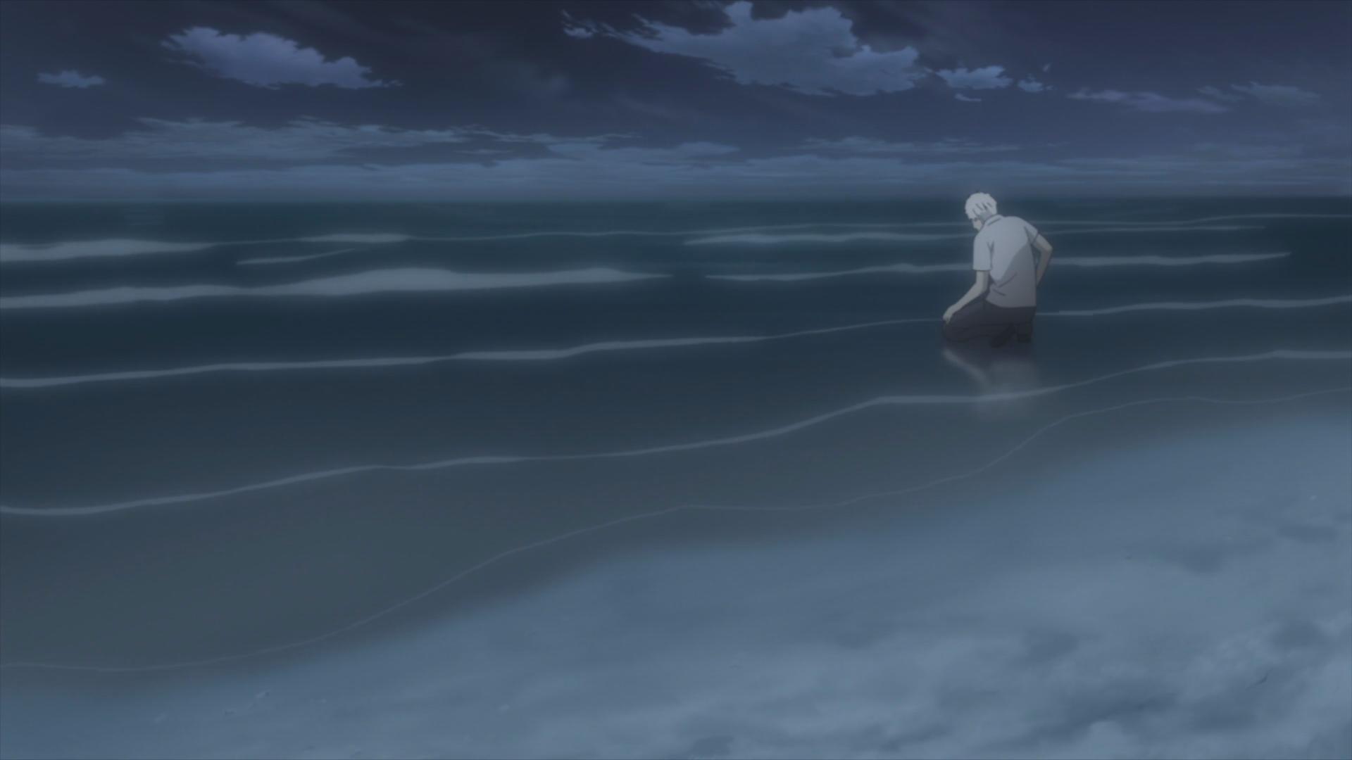 Anime Ocean Night