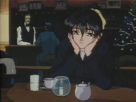 Sentimental Journey Sentimental Graffiti Anime Chie Matsuoka Bar Drinking Candlelight Chirstmas